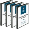 Business Source Round-Ring View Binder - 1/2