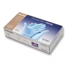 RelyAid PF Textured Nitrile Exam Gloves