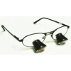 Feather Sight Loupes & Feather Light LED Combo:  #TT3 Standard Frame - TTL (3.0x Magnification)