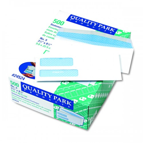 2Window Security Tinted Check Envelope