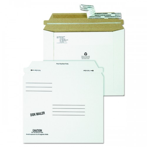 Recycled Redi Strip Economy Disk Mailer