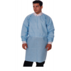 Dual Fabric Surgical Cover Gowns - Blue